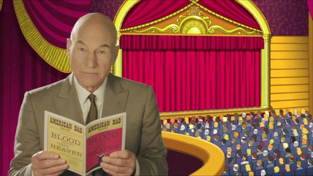 Stoned Patrick Stewart Explains 'Quadruple Take' artistic, awesome, comedy, funny, funny-crazy-wtf-people, interesting, music, random, silly, weird
