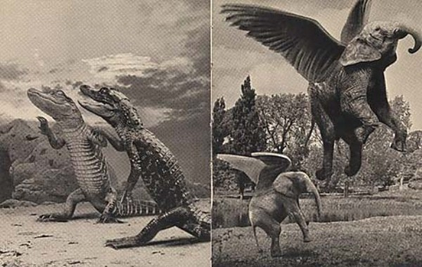 Fantastic Manipulations Performed Before The Golden Age Of Photoshop