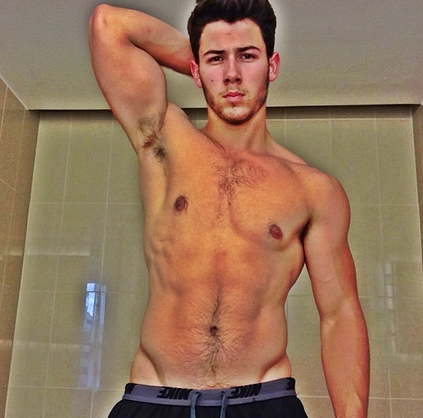 Nick Jonas Posted A Shirtless Selfie To Instagram artistic, awesome, cool, funny, random, silly, sweet, weird