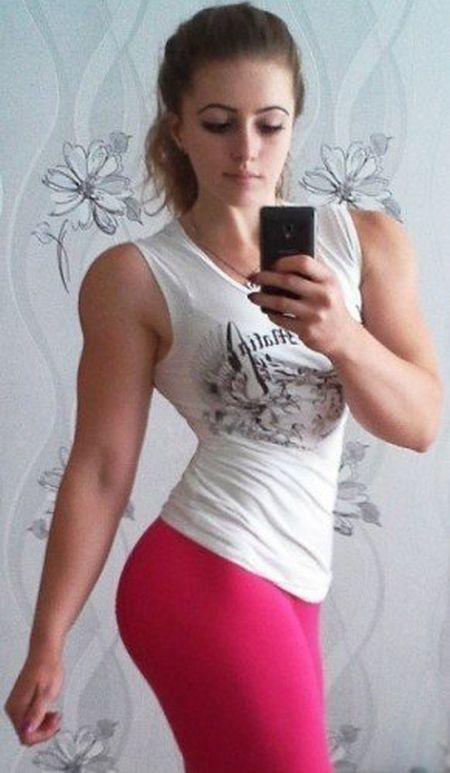 Strong Girl Julia Vins