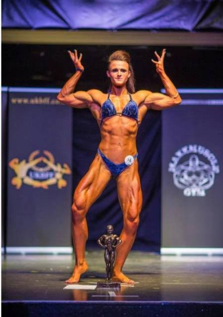 A Pretty Girl with a Body Most Men Would Kill For bodybuilder, georgina-mcconnell, girls, strong