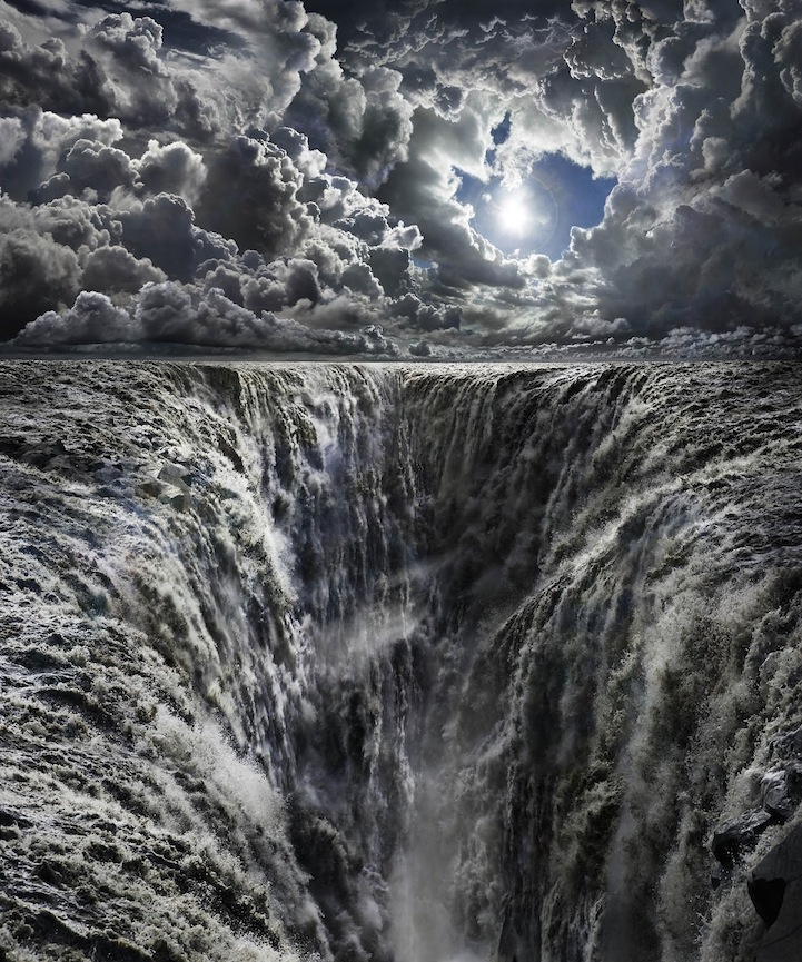 Hyperrealistic Turbulent Skies Reveal the Power of Nature