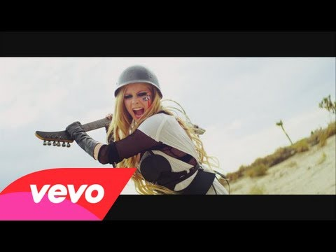 Avril Lavigne Fights BearShark in 'Rock N Roll' Video