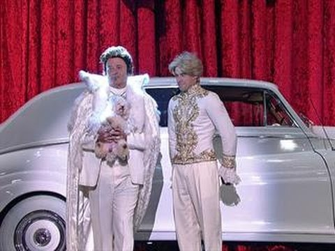 Watch Bill Murray's Spectacular 'Letterman' Entrance