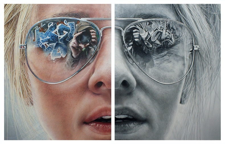 Hyper Realistic Paintings by Simon Hennessey