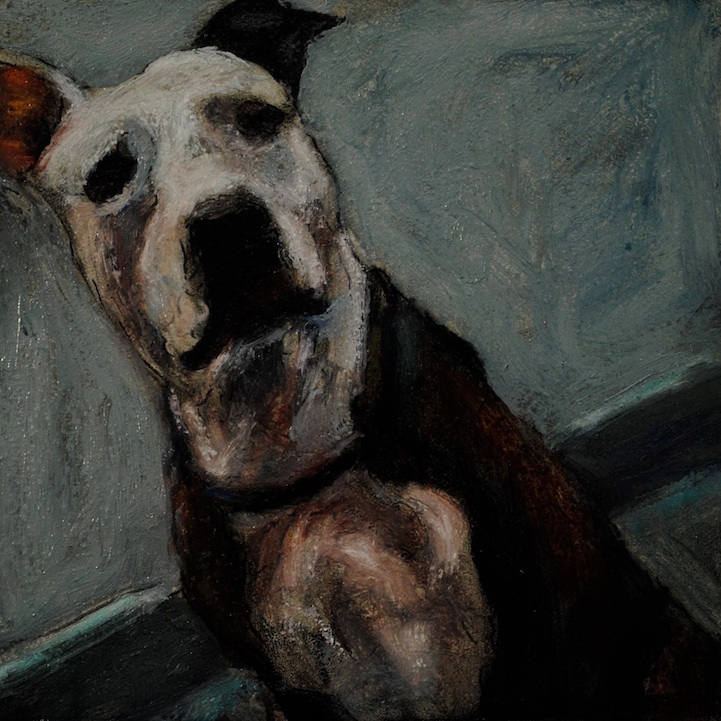 Heartbreaking Paintings of Deceased Shelter Dogs art, dog, mark-barone, paintings, shelter