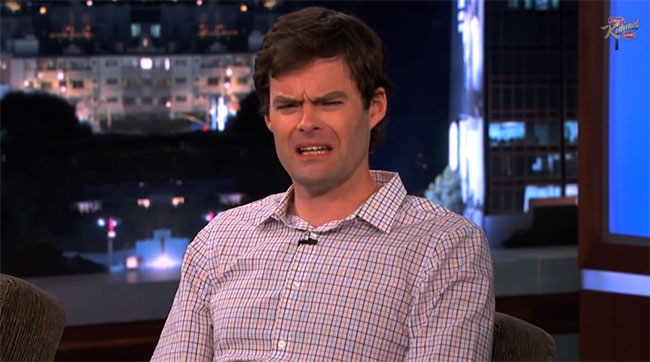 Watch Bill Hader's Impression Of James Franco At His Roast