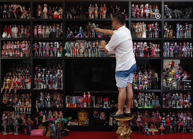 You Won't Guess What This Man Loves Collecting…