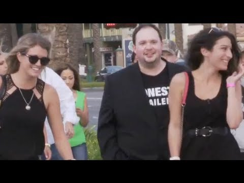 Epic Movie Trailer Narrator Pranks Hapless Pedestrians