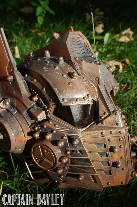Steampunk IRON MAN and OPTIMUS PRIME Helmets
