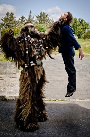 Epic STAR WARS Wookie Cosplay!  art, awesome, featured, inspirational, interesting, new, vivid