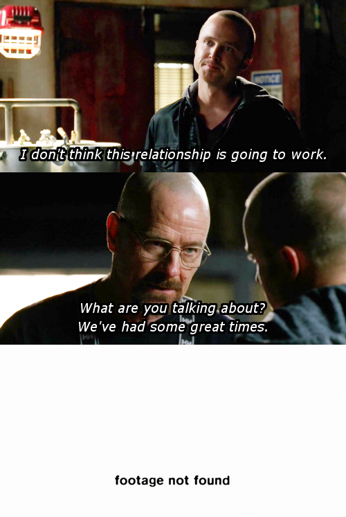 Breaking Bad Re-Cut As A Romantic Comedy Between Walt And Jesse