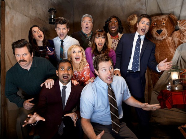 Let's Watch 20 Minutes Of 'Parks and Recreation' Season 5 Bloopers