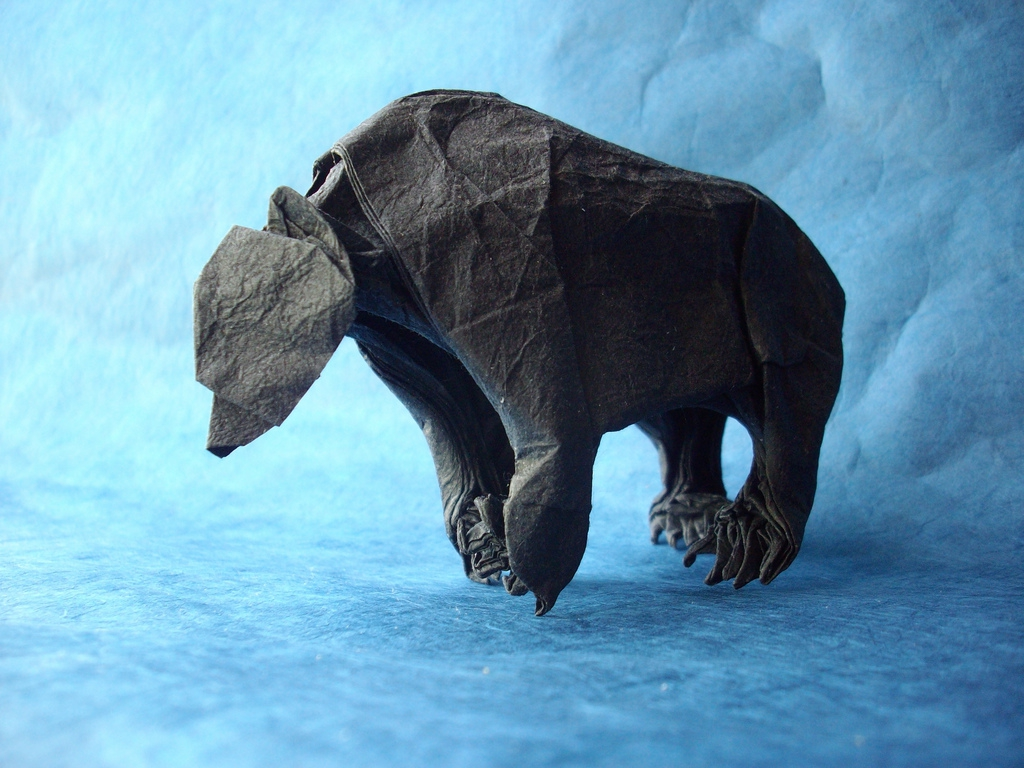 The Origami Animals of Matthieu Georger