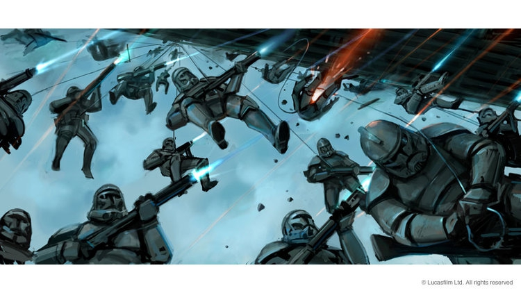 Awesome STAR WARS: EPISODE III Concept Art Collection