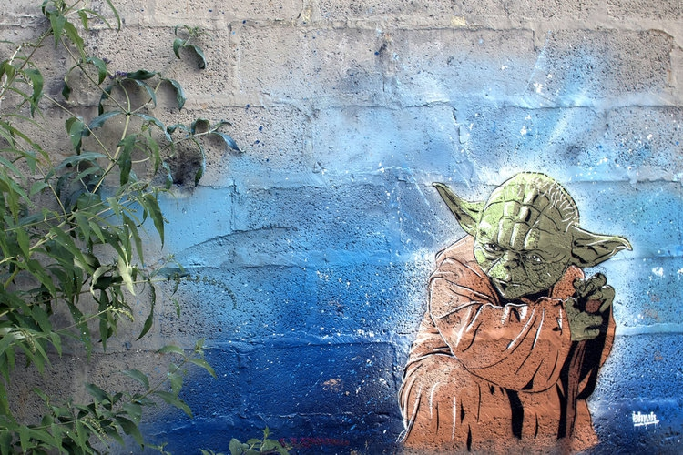 Awesome STAR WARS Street Art  artistic, awesome, clever, cool, crazy, funny, random, rocks, silly, sweet