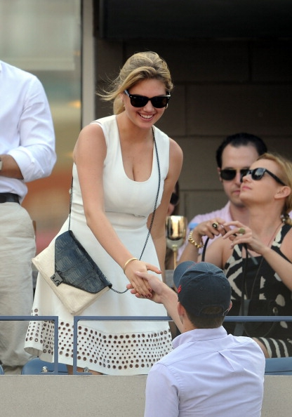 Kate Upton Was The Star Of The U.S. Open