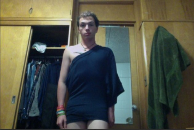 Dudes Wearing Gym Shorts as Dresses Is the Latest Fashion Craze