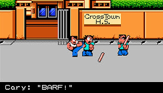 Barf! An Officially Licensed 'River City Ransom' Has Hit Kickstarter