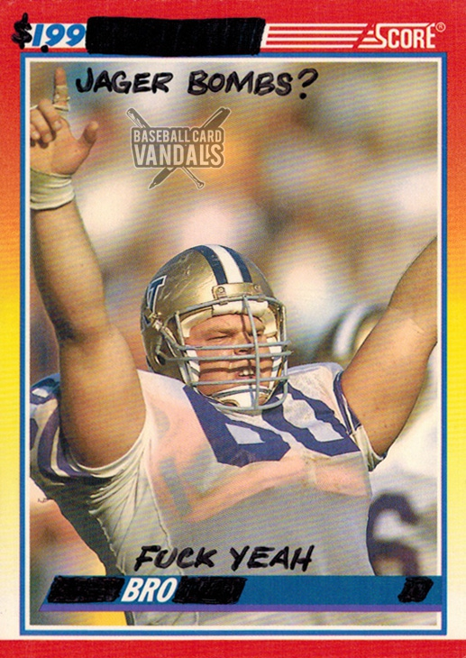 The Baseball Card Vandals Made Football Cards For The NFL Season awards, awesome, celebs, funny, interesting-weird-cool, memes, movies