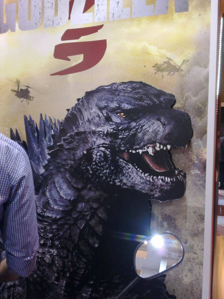 GODZILLA First Look From the New Movie?