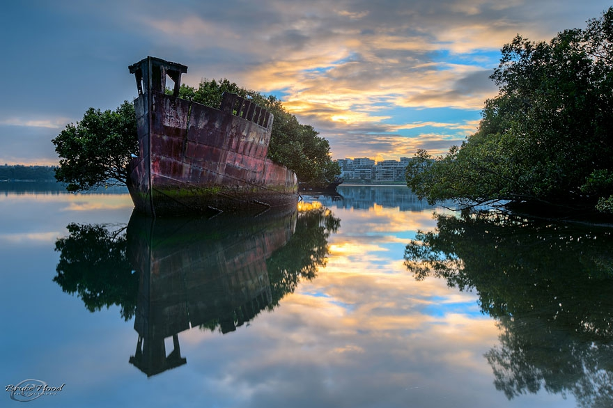 3. 102-Year-Old Floating Forest in Sydney, Australia abandoned-buildings, abandoned-cities, abandoned-places, abandoned-structures, creepy, full-page, ghost-towns, haunted, urban-exploration, urban-photography