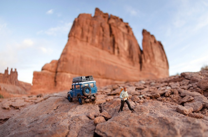 Miniature Adventures in a Southwestern Landscape
