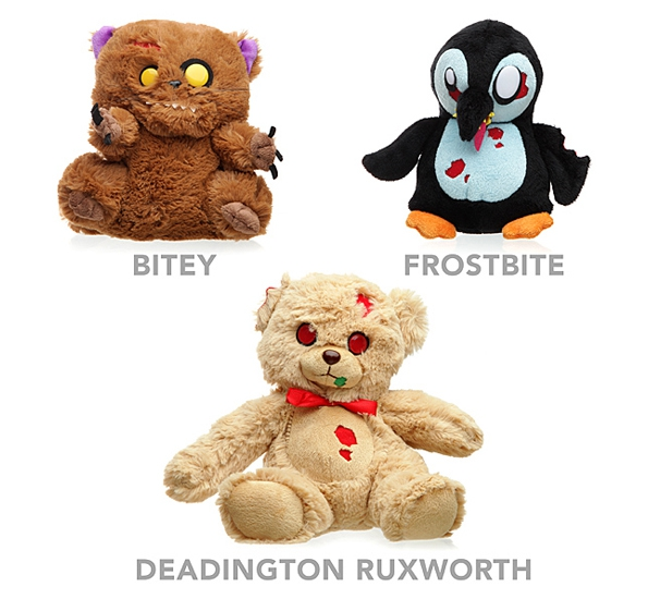 Give A Child A Nightmare bear, child, children, nightmare, odd, penguin, strange, toy, weird