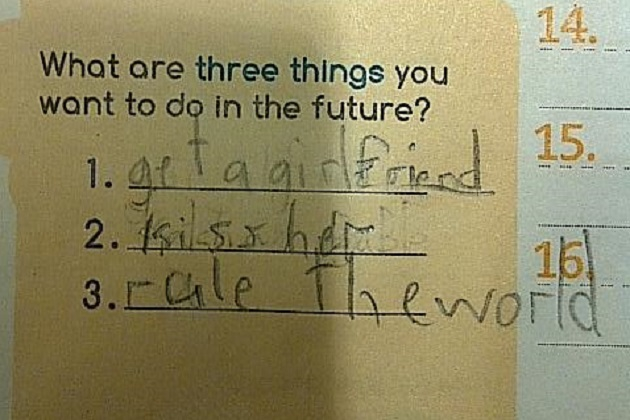 11 Hilariously Creative Homework Responses awesome, cool, creative, intense, interesting, popular, review, shows, symbolism, trending, tv