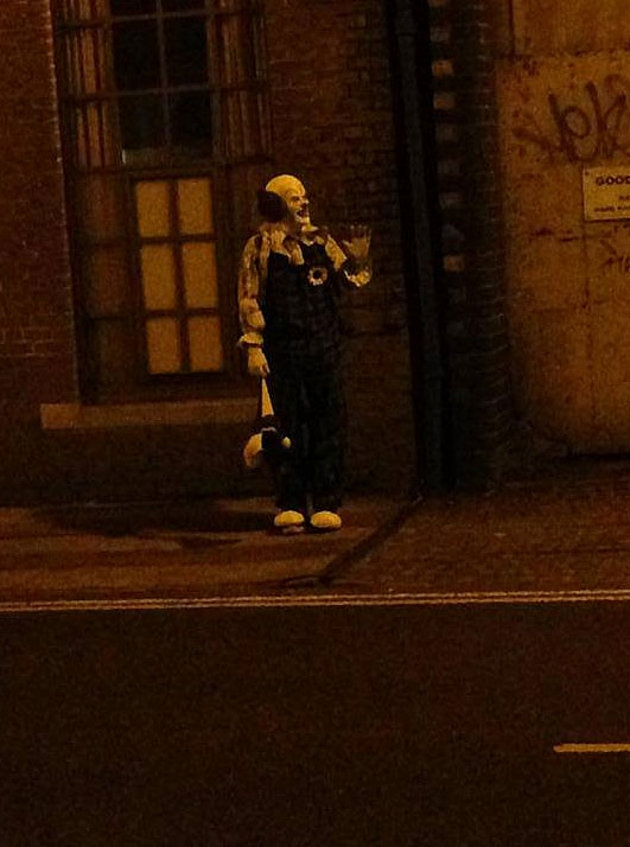 Scary Clown Mysteriously Pops Up to Terrorize Northampton