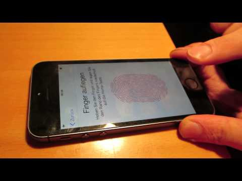 Apple's New touchID Hacked