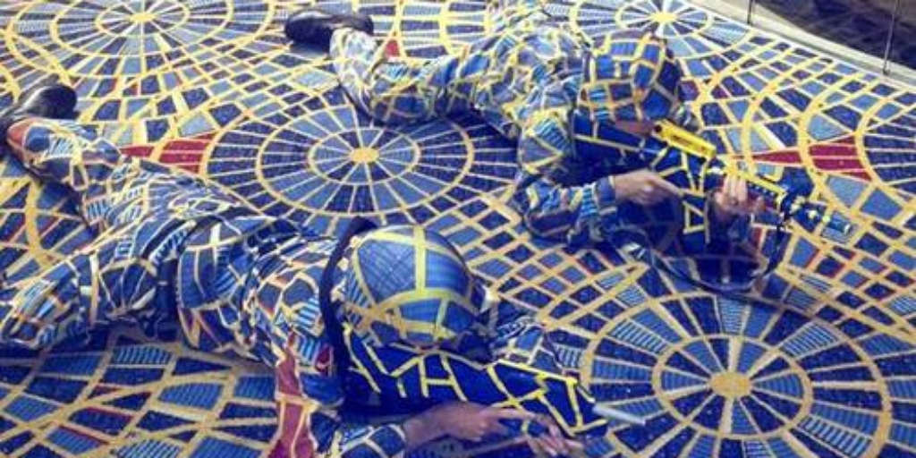 Carpet Camo created only to be Cease and Desist awesome-nerds, dragoncon, hide-and-seek