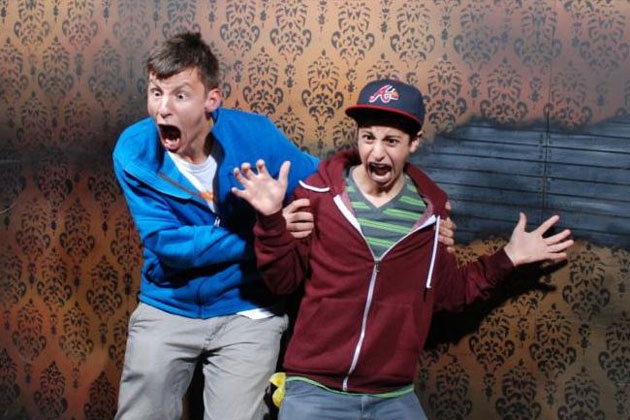 Nightmares Fear Factory Returns With More Funny Haunted House Faces