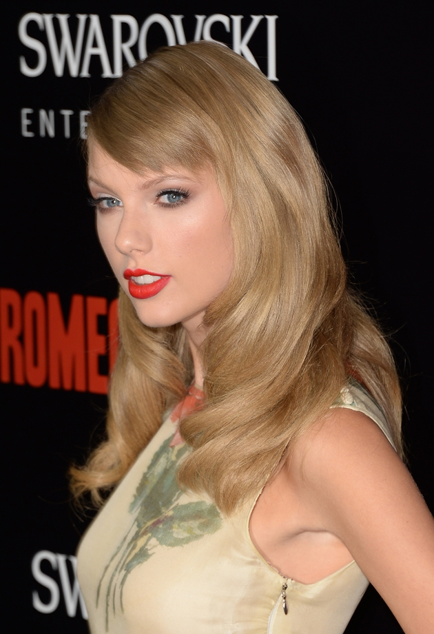 Taylor Swift Has New Hairstyle at 'Romeo + Juliet' Premiere [PHOTOS] awesome, celebs, cool, interesting, music, news, style, topics, trending, weird