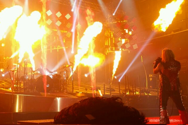 Motley Crue Debut Fiery Stage Show for Las Vegas 'Evening in Hell'