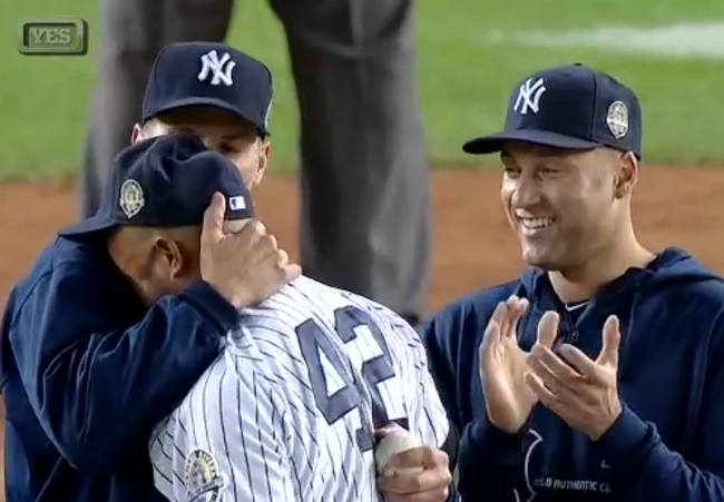 Mariano Rivera's Final Exit Brought Out All The Goose Bumps