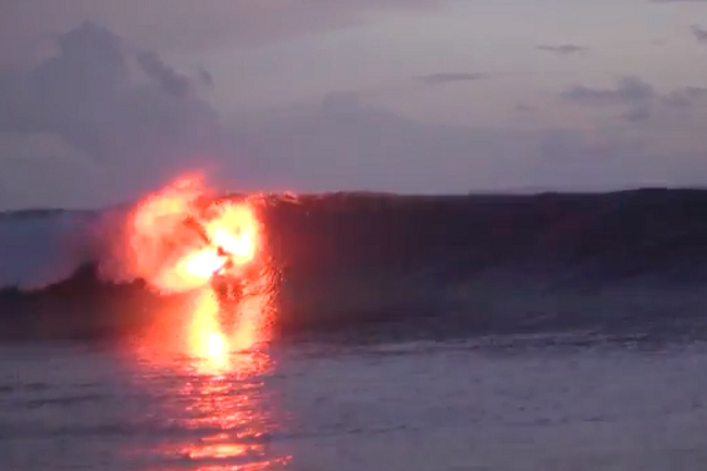 Watch This: Flare Surfing Looks Pretty Awesome (And Dangerous)