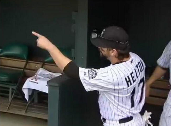 A Rockies Fan Showed Todd Helton A Painting Of Him As A Centaur conference, division, news, season, sports, topics, trending