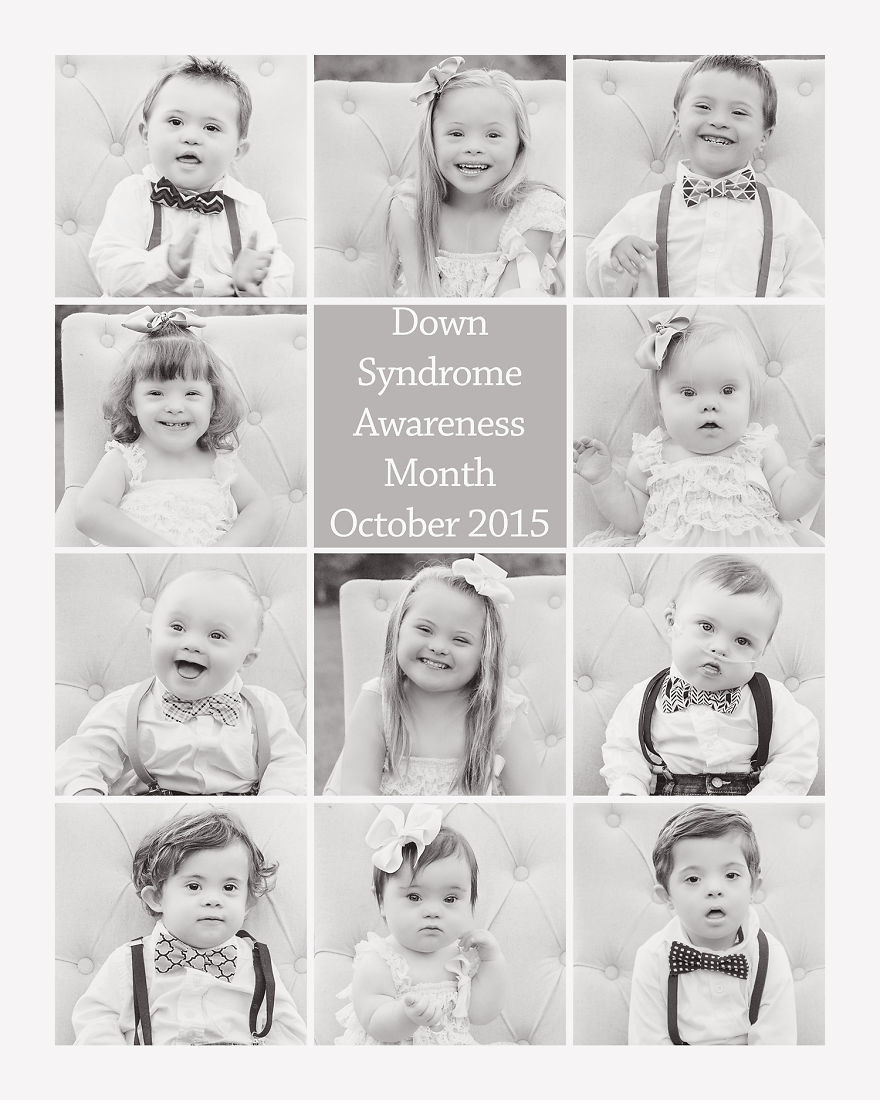 I want people to see these children and know that if they are having a baby who has been diagnosed with Down Syndrome, they will be blessed beyond words Down Syndrome, photoshoot