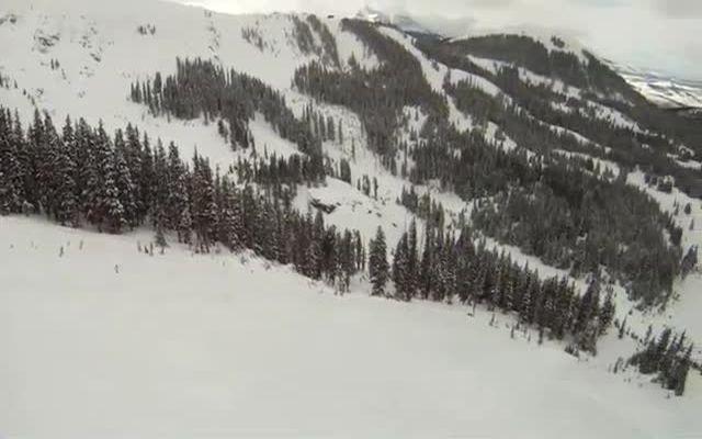 Зря доверился старой лыжне в горах