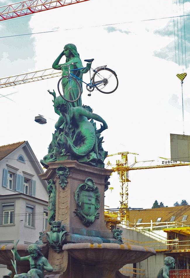 31. Спрячьте чей-нибудь велосипед апрель, розыгрыш, шутка