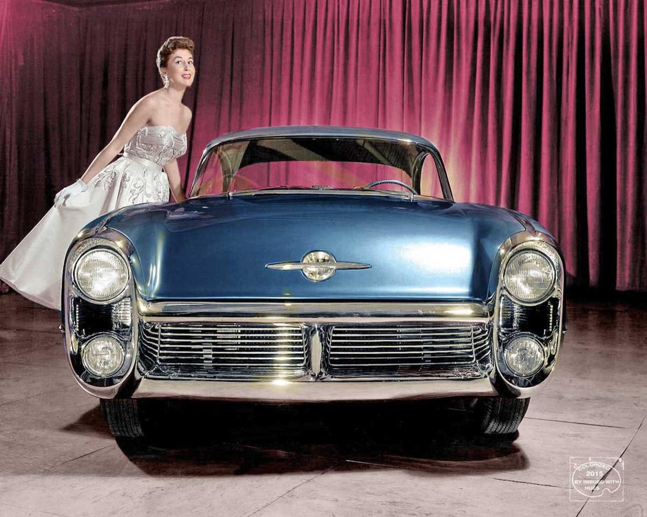 1955 Oldsmobile 88 Delta Motorama Concept general motors, концепт, фотографии
