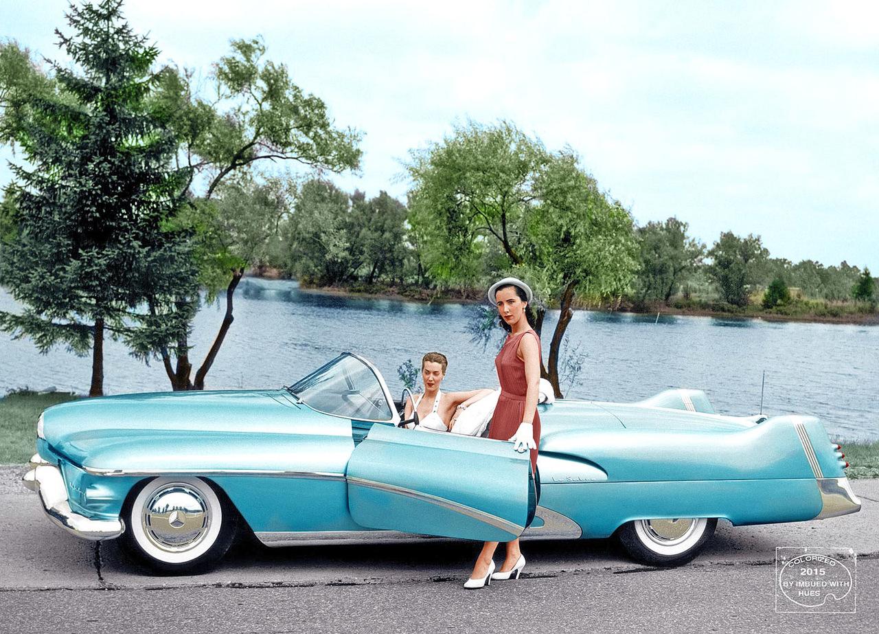 1951 General Motors LeSabre Motorama Concept general motors, концепт, фотографии