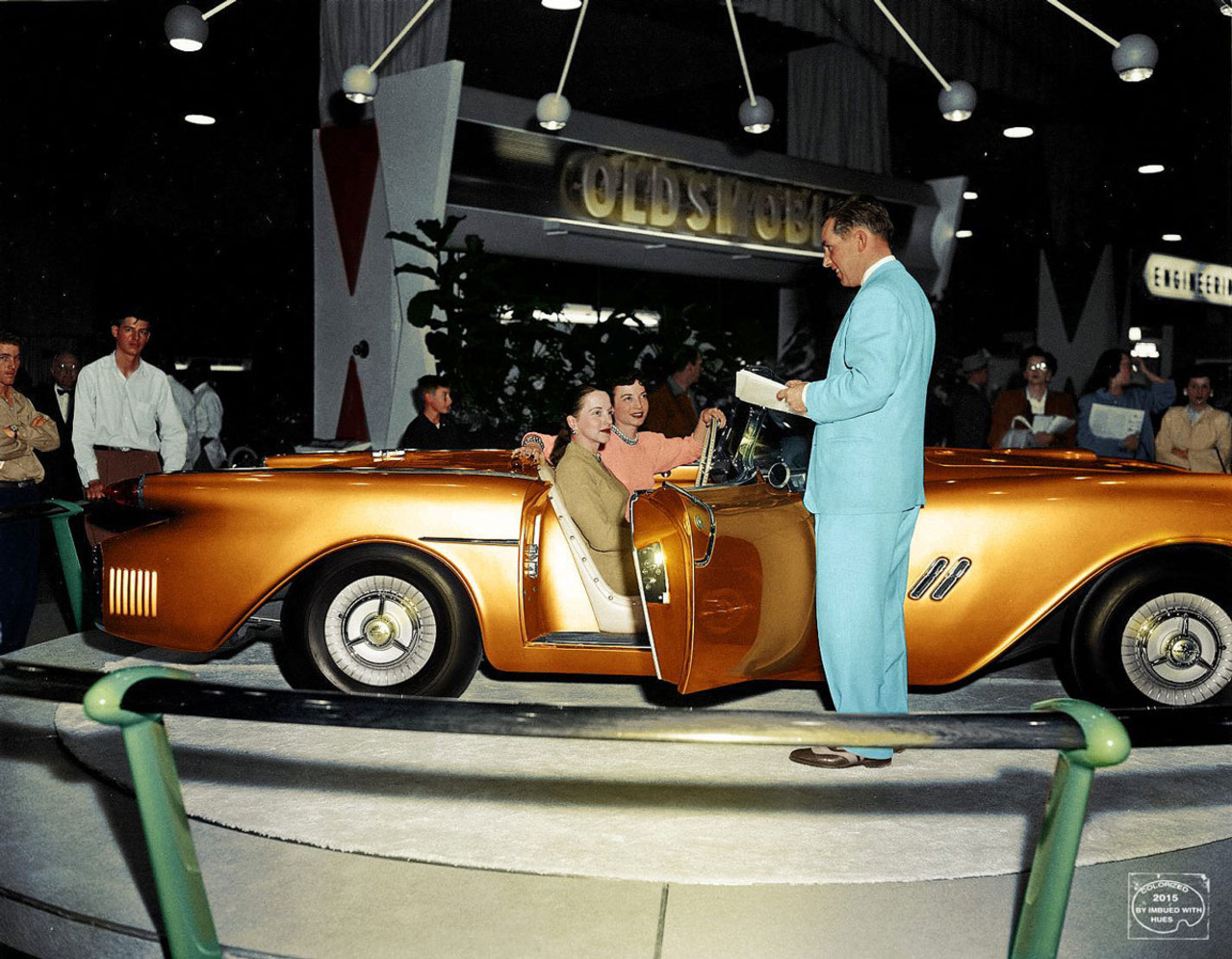 1954 Oldsmobile F-88 Motorama Concept general motors, концепт, фотографии