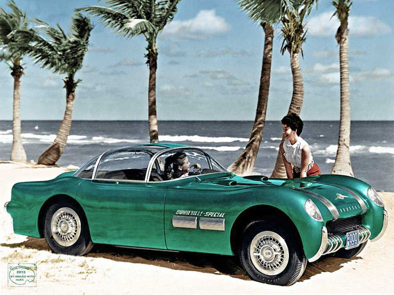 1954 Pontiac Bonneville Special Motorama Concept general motors, концепт, фотографии