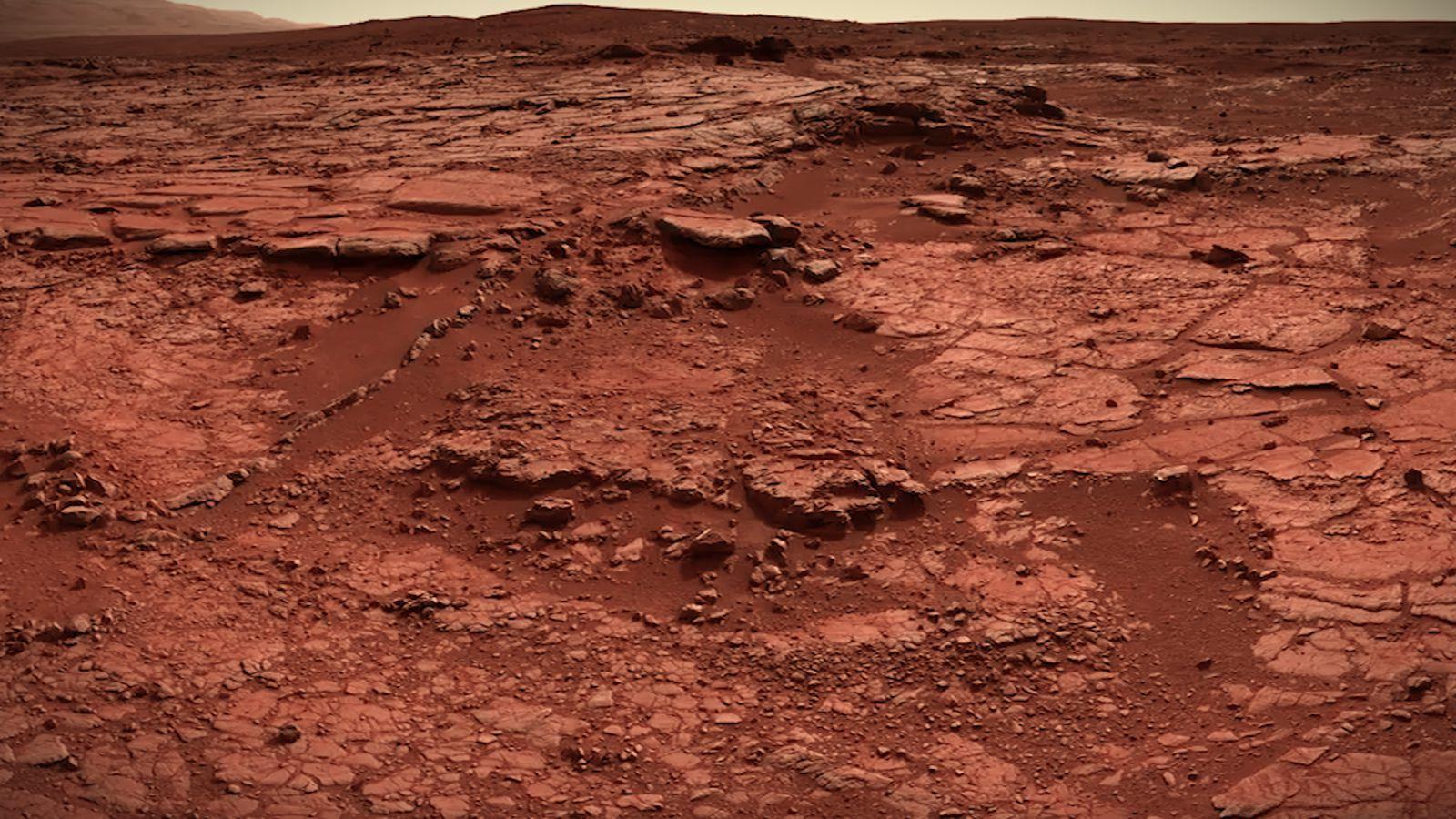 mars surface description - HD1600×900