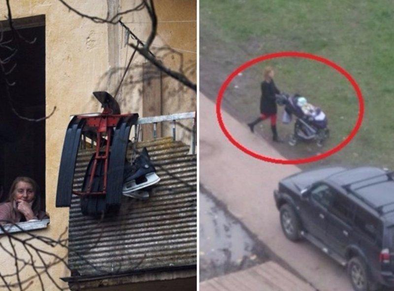 """Враг не пройдет. """"Лютый совок"""" в современной Москве (31 фото)"""