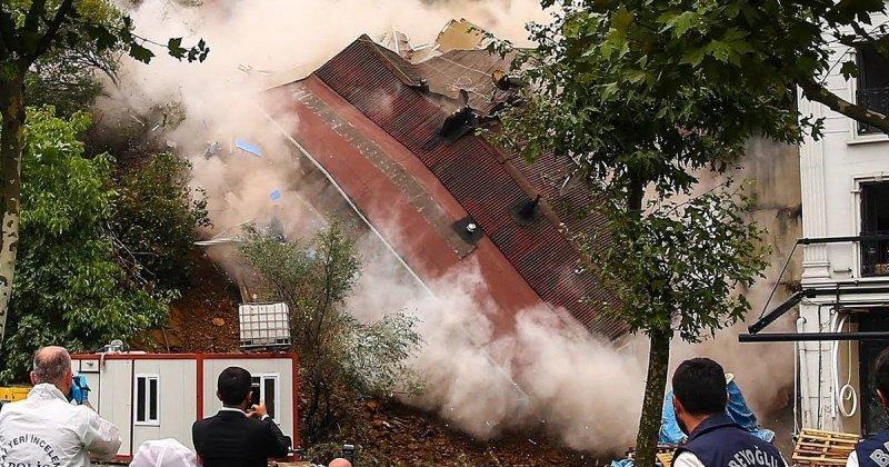 В Стамбуле из-за ливней рухнул жилой дом видео, дом, жилой дом, здание, обрушение, постройка, турция