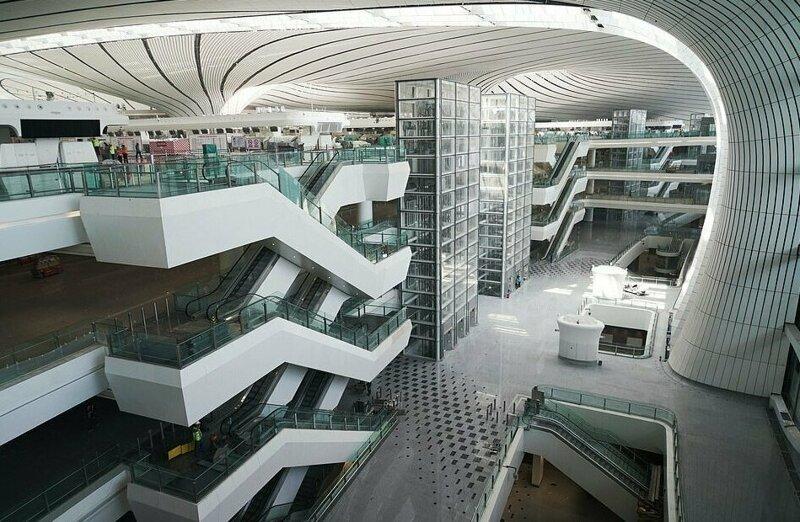 В Пекине построен самый большой аэропорт в мире ynews, Дасин, аэропорт, гигантомания, китай, новости, пекин, строительство