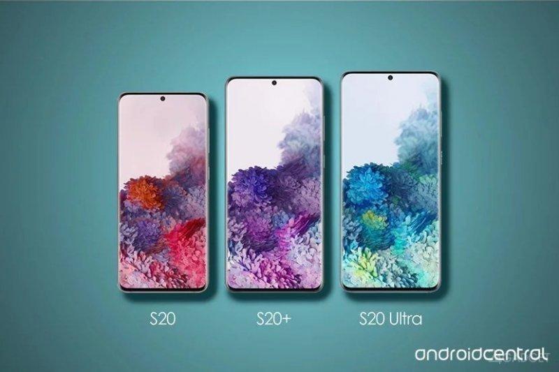 Сравнение массы и размеров серии Galaxy S20 с другими смартфонами (6 фото)